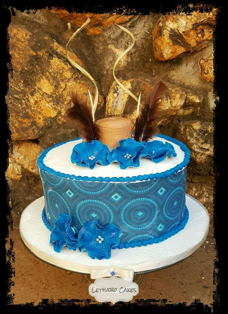African traditional cake