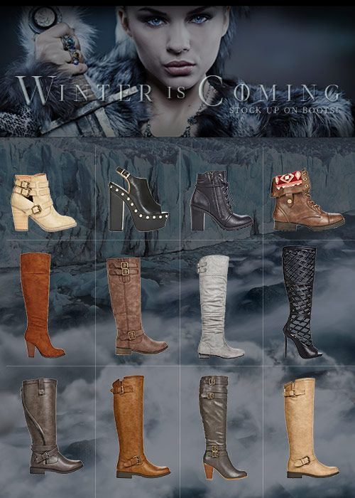 Winter Is Coming! Stock Up On Boots – For A Limited Time Only from August 20th 2015 to September 30th 2015 get 2 Pairs for $39.95 Shipped. Can't Decide Which Winter Style is Best for You? Find Out by taking Our Shoe Style Quiz and Take Advantage of This Limited Time Offer!