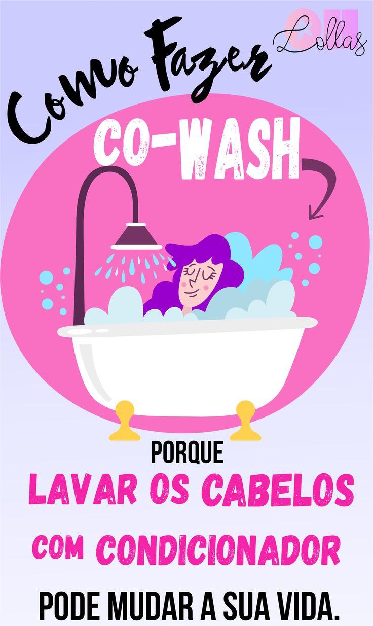 Lavar o Cabelo sem Shampoo? Como Fazer Co-Wash