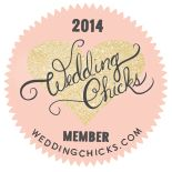 Fleurie is now a Wedding Chicks member!