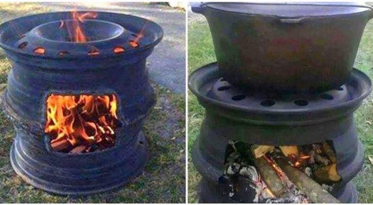 Jetzt ist es noch etwas kalt, aber bald wird es warm und dann ist es wieder Zeit für den Grill. Sie möchten keinen teuren Grill kaufen? Mit zwei alten Felgen erstellen Sie einen tollen Grill für die warmen Tage. Diese Felgen kann man oftmals auch ...