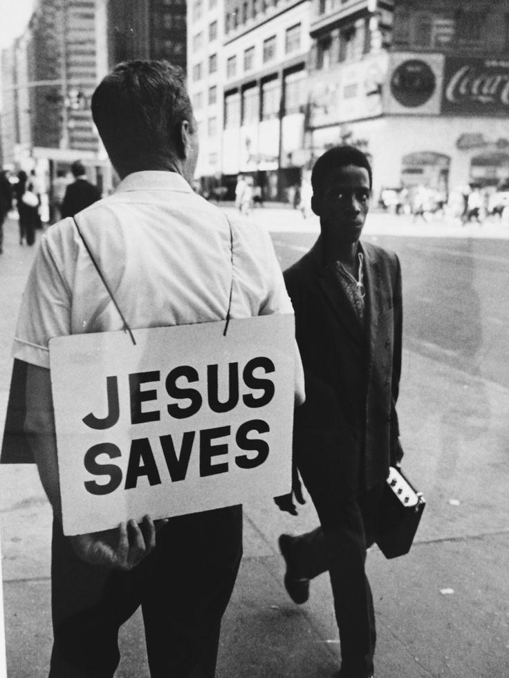 Jesus Saves - Bresson