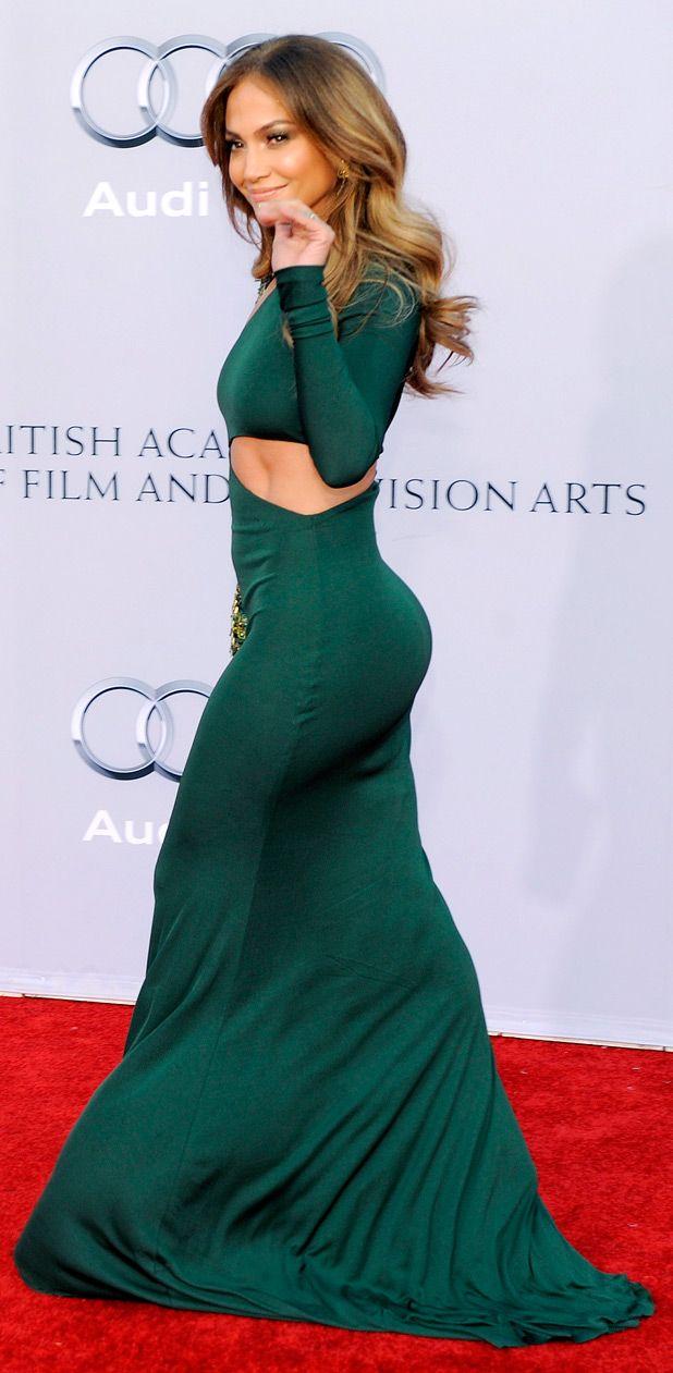 Jennifer Lopez Green Dresses Because a girl's gotta...