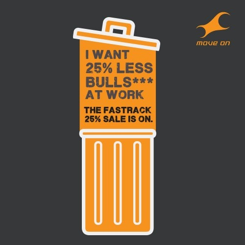 I want 25% less bull S*** at work #25reasonstoshop Flat 25% OFF on Bags, Belts, Wallets & Sunglasses!