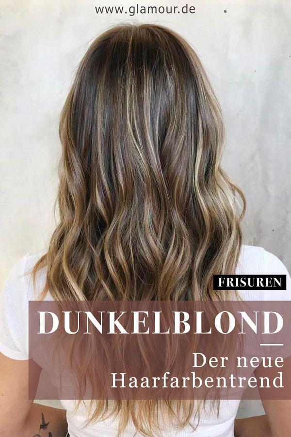 Dunkelblond: Dark Blonde ist der Haarfarbentrend des