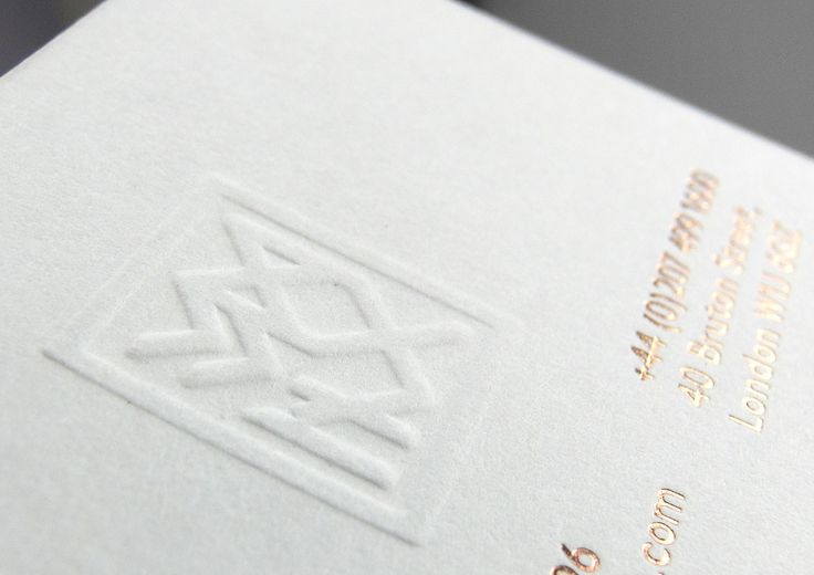 Magni business cards. Design: Ghost Design