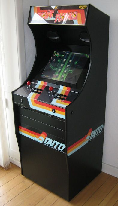 mame arcade cabinet project mame build your own mame cabinet taitorama 23020