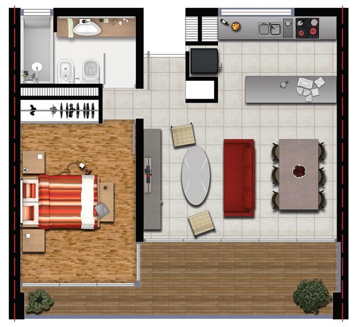 Proyecto: Edificio Nuñez II, desarrollo inmobiliario   Lugar: Nuñez, Capital Federal, Argentina   Cliente: Estudio de Arquitectura   Planta Inmobiliaria 2D #ArchDigital.