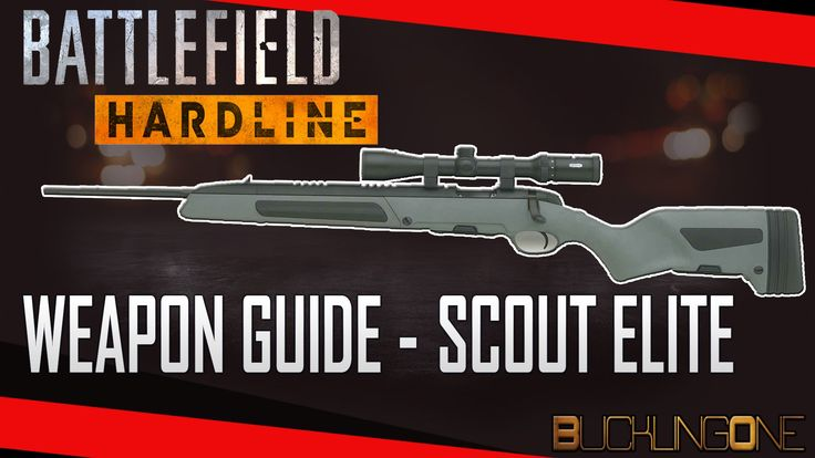 A look at the Scout Elite in Battlefield Hardline. The second episode in my series of Weapon Guides for Hardline. A versatile sniper that is beginner friendly and great all-round. Mostly useful for aggressive recon style play, make sure to take advantage of its quick rate of fire and high magazine capacity.