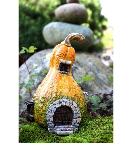 Gourd Fairy House with Light