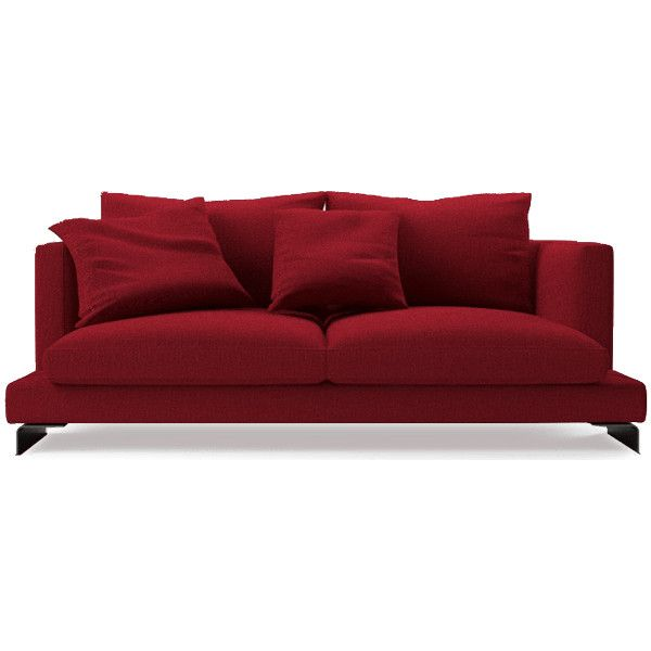 Lazytime Two Seat Sofa ❤ liked on Polyvore featuring home, furniture and sofas