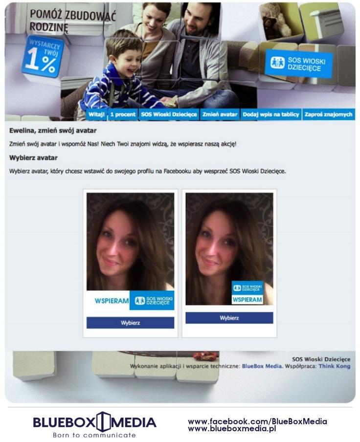 Facebook App for 'SOS Wioski Dziecięce'
