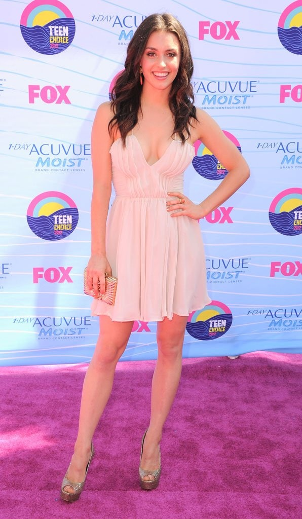 Kathryn McCormick - 2012 Teen Choice Awards - Super cute.