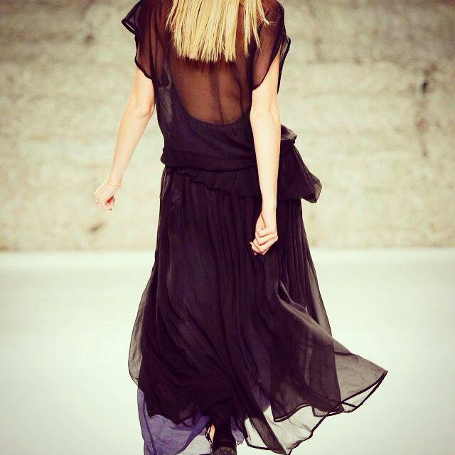 Meam long dress