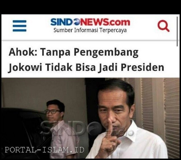 2019 JOKOWI Akan Tumbang & Bisa Menjadi Awal KEBANGKITAN NASIONAL ABAD MILENIUM  2019 JOKOWI AKAN TUMBANG & BISA MENJADI AWAL KEBANGKITAN NASIONAL ABAD MILENIUM  Jika reklamasi dapat digagalkan dan banding Ahok ditolak syukur ditambah baik ditingkat Pemgadilan Tinggi maupun MA maka tumbangnya Jokowi semakin dapat dipastikan bakal terjadi. Kengototan LBP dalam usahanya mempertahankan reklamasi dan kengototan penguasa dalam memperalat hukum untuk melindungi kasus-kasus Ahok. Baik dalam…