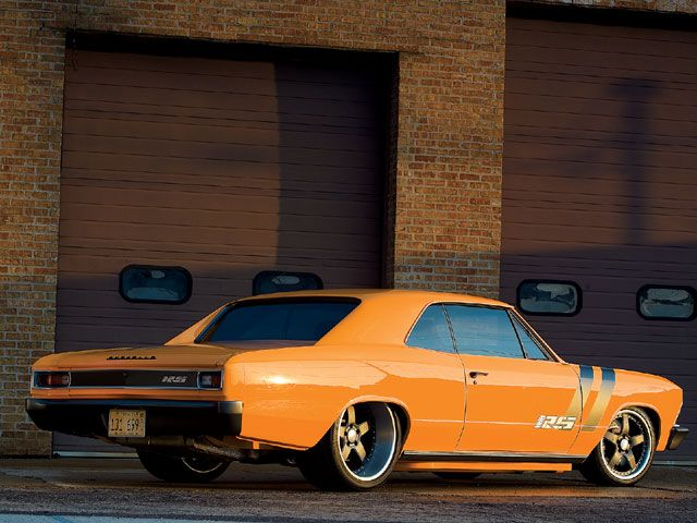 1966 Chevrolet Chevelle - may have to build one of these.