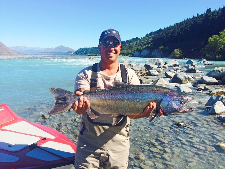 This guy leaves little chance when targeting salmon.