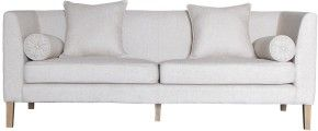 Living Area | Living Edge Bella Giselle 3 seater oatmeal sofa