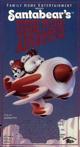 Santabear's High Flying Adventure [VHS] Lions Gate