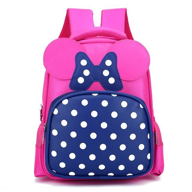 8d5bf1a068 Cartoon Kids School Backpack Children School Bags For Kindergarten Girls  Boys Nursery Baby Student book bag