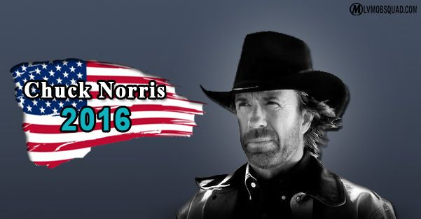 chuck norris for president 2016 random humor pinterest. Black Bedroom Furniture Sets. Home Design Ideas