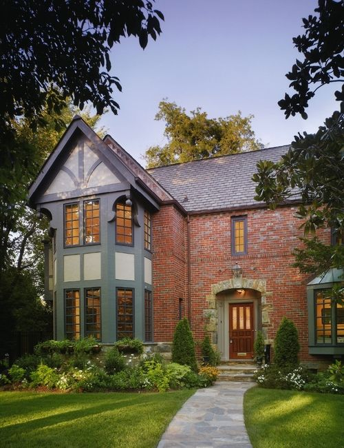 58 best tudor revival inspiration images on pinterest - Tudor revival exterior paint colors ...