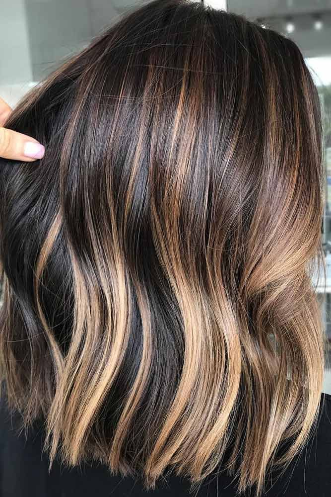 How To Get And Sport Black Hair With Highlights In 2021 Hair Color 2017 Black Hair With Highlights Hair Styles