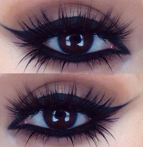 Beautiful eye makeup for brown eyes or any eye color really