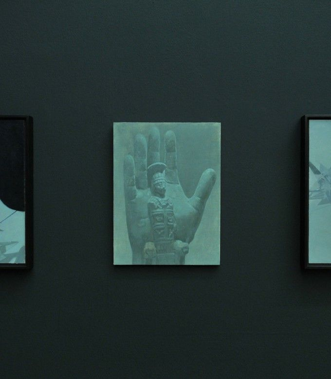 Victor Man. Zephir, Zachęta – Narodowa Galeria Sztuki, 2014, widok ekspozycji, fot. Marek Krzyżanek, CC BY-SA