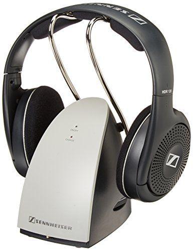 Sennheiser RS120 On-Ear Wireless RF Headphones with Charging Dock - $62.99