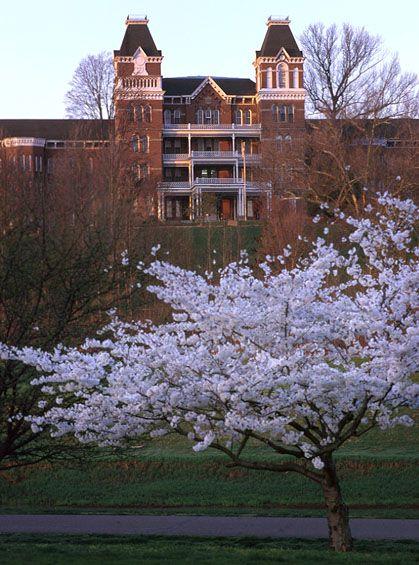 Athens Lunatic Asylum, Athens, Ohio (The Ridges) closed in 1993 now owned by Ohio University