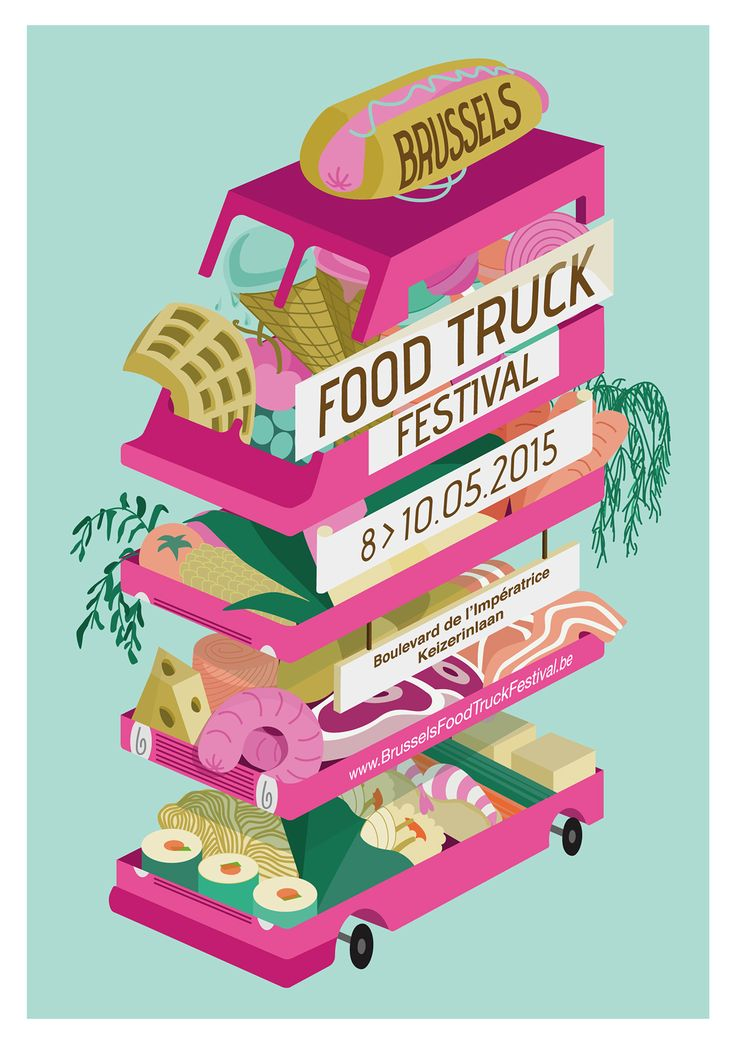 Brussels Food Truck Festival by loan tranduy