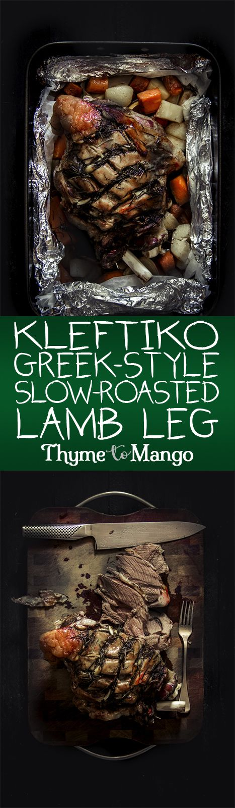 Is there anything better than lamb that has been slow roasted with rosemary and garlic? Then try this Greek Kleftiko and let the lamb vibes woo you!
