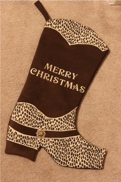 Western Christmas Stocking. wanttt