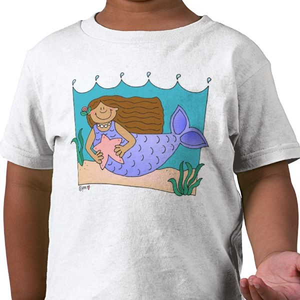 Isn't she the cutest mermaid ever?!!: Best Friends,  T-Shirt, Skull T Shirts, Jersey,  Tees Shirts, Pirates Skull, St. Patrick'S Day, Honey Bears, Boys Toddlers
