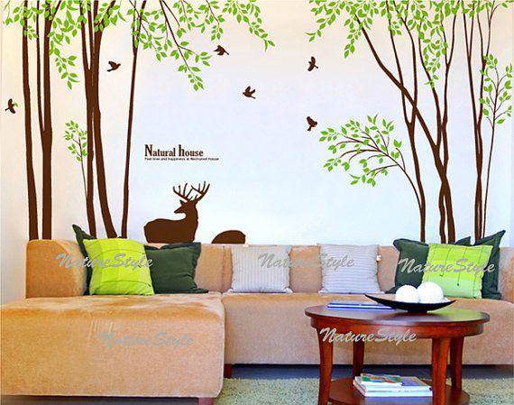 Oltre 1000 idee su decalcomanie da parete ad albero su - Albero su parete ...