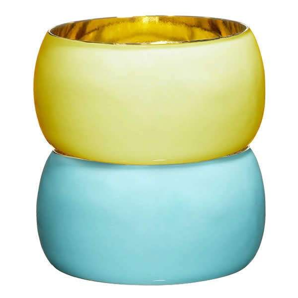 AV Max Yellow and Blue Rim-less Bangle: Rim Less Bangle, Blue Rim Less, Blue Bangles