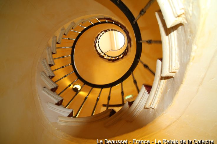 Le Beausset, France - the 39 steps to the room