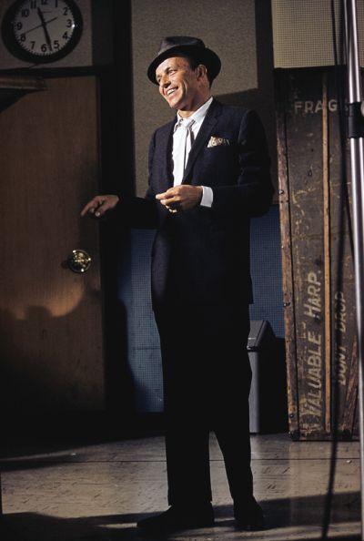 The great Frank Sinatra