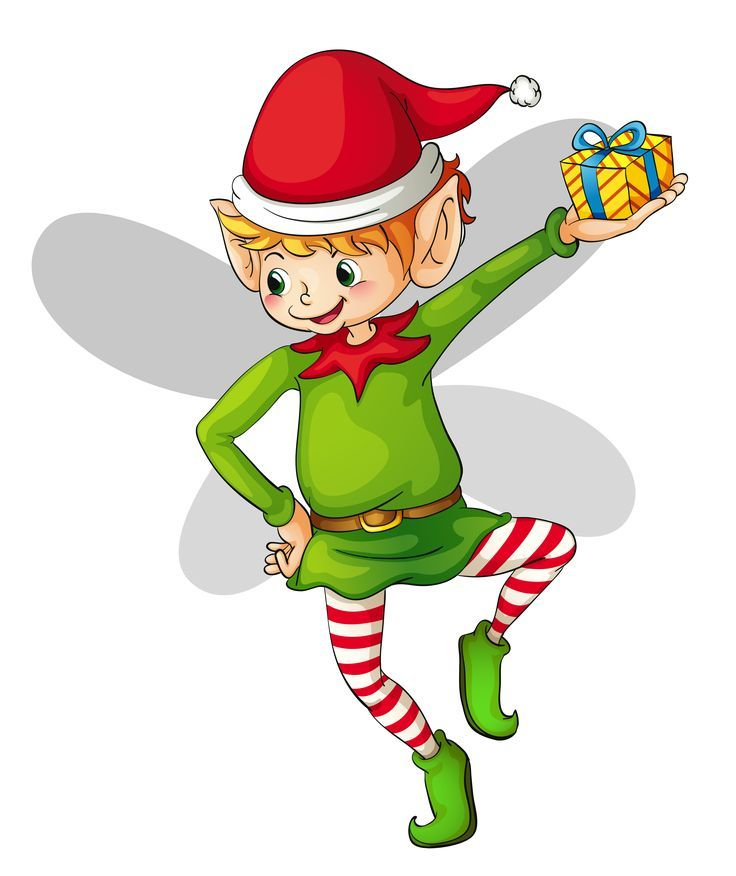 Image result for confident elf clipart