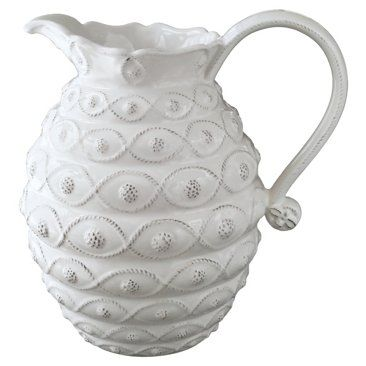 Check out this item at One Kings Lane! Jardins du Monde Large Beehive Pitcher