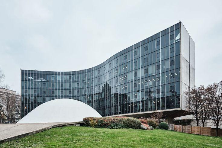 Oscar Niemeyer, August Fischer · Siège du Parti communiste français