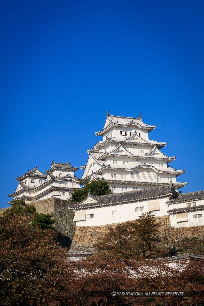 Himeji Castle, Hyogo, Japan 姫路城天守|お城めぐりFAN 写真ライブラリー