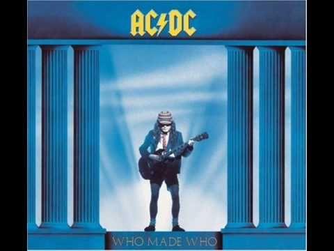 AC/DC Who Made Who 1986
