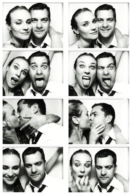 Joshua Jackson and Diane Kruger...still cute even though they're not together anymore haha