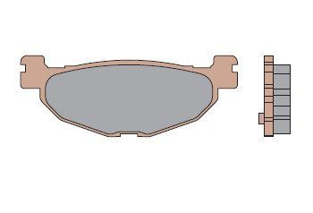 """Malossi Jeu de plaquettes de frein Arriere """"MHR SYNT""""T-MAX 530 4t LC inject (à partir de 2012)"""