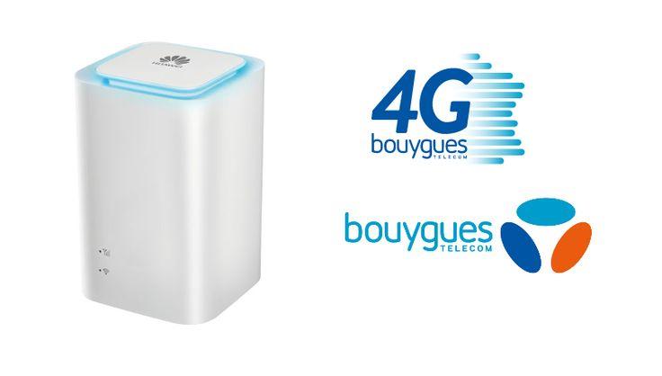 Nouvelle offre innovante, box 4G chez Bouygues Telecom via @bboxmag
