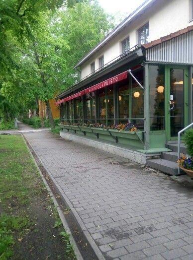 Restaurant Puisto in Puu-Käpylä
