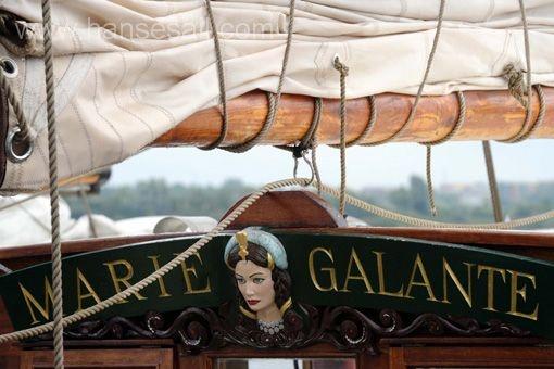 Tall Ship Marie Galante at Hanse Sail Rostock