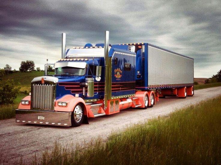 181 best Custom Big Rigs images on Pinterest | Custom big rigs ...